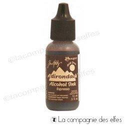 Encre alcool espresso Ranger | adirondack espresso