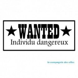 wanted stamp | stempel wanted