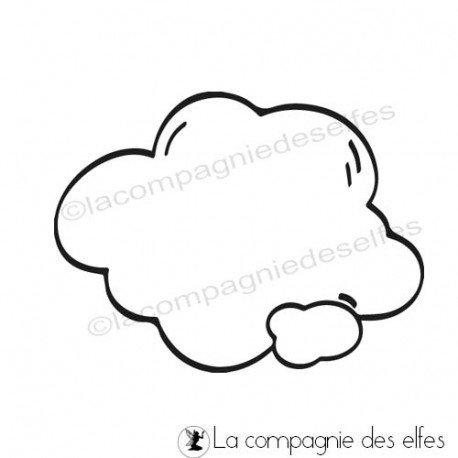 autour des champignons 3/3 A PROGRAMMER Tampon-nuage-bulle