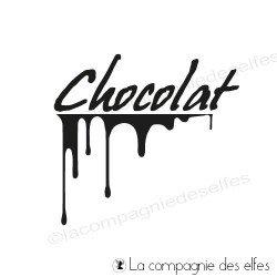 chocolat - tampon nm