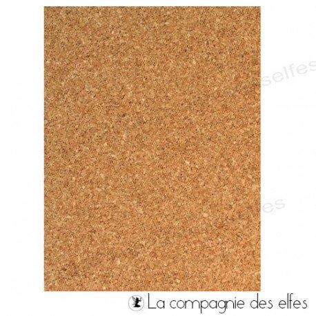 Cork sheets | achat liège autocollant |liège adhésif