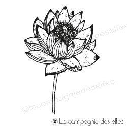 Tampon lotus éclos