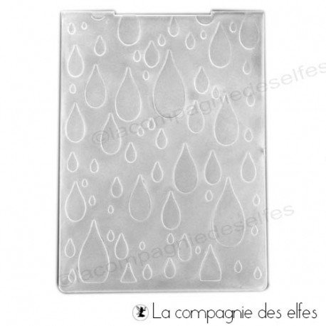 plaque embossage cuttlebug | plaque gaufrage froid
