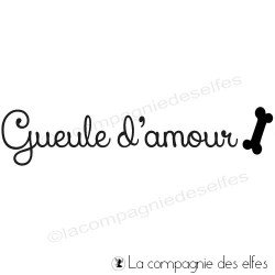 Tampon gueule d'amour