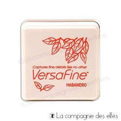 encre VERSAFINE orange pM