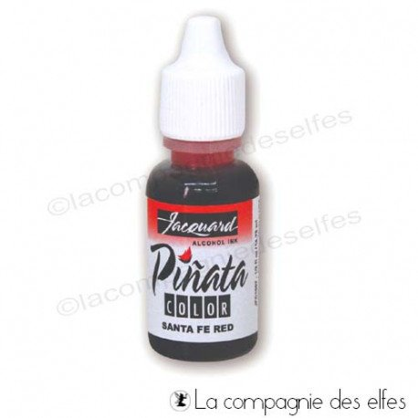 Encre alccol santa fe red | achat encre rouge
