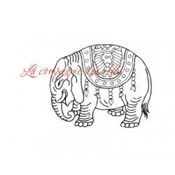éléphant d'Inde tampon nm