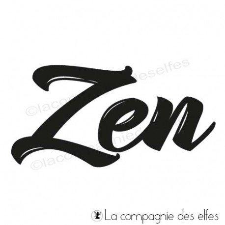 carte et motifs en 3D 1/3 Tampon-encreur-zen