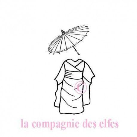 tenue kimono - Cannelle - tampon nm