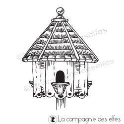 Tampon nichoir maison oiseau