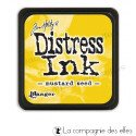 distress jaune moutarde mustard seed