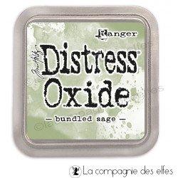 Distress oxide bundled sage