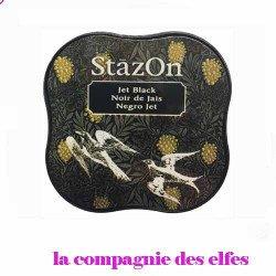 Stazon noir | encre stazon en stock