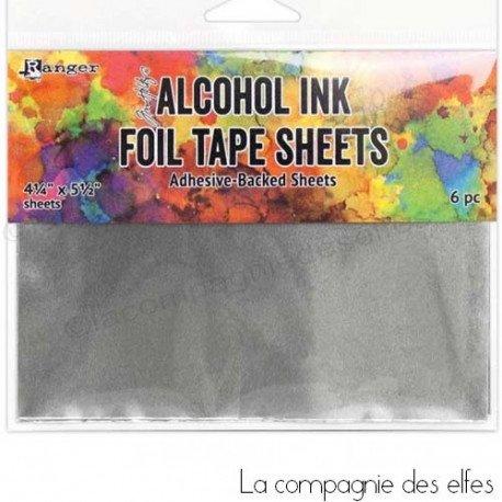 Achat foil tape | acheter papier metal adhesif