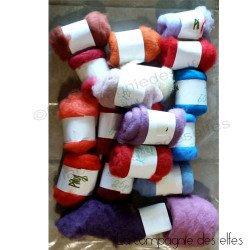 Achateter laine feutrée artisanale