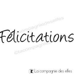 Timbre félicitations