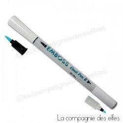 EMBOSS dual pen - stylo feutre à embosser