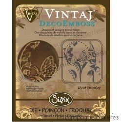 Plaque vintaj | plaque metal sissix | vintaj 658310