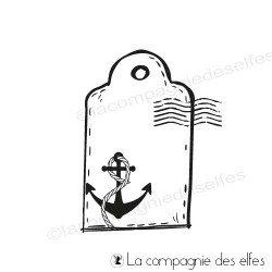 Tampon étiquette marine