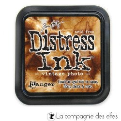 distress encreur vintage photo