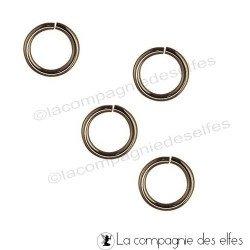 Anneau bronze | gros anneaux