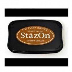 stazon saddle brown