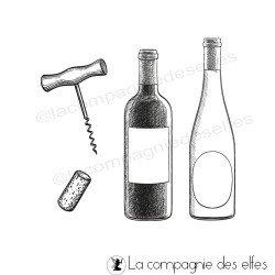 Tampon bouteilles vin