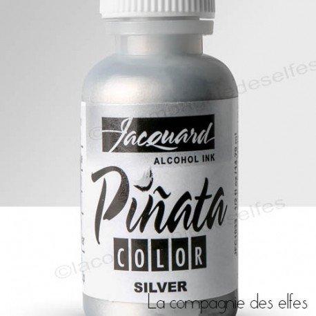 Acheter encre pinata | Pinata alcohol silver ink