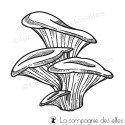 Tampon champignons d'automne