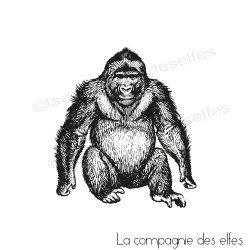Tampon encreur gorille