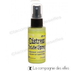 Distress oxide spray squeezed lemonade | achat spray distress