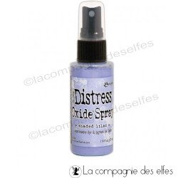 achat encre distress oxide violet | achat spray oxide shaded lilac