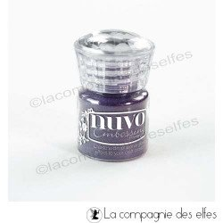 Nuvo embossing powder purple | achat poudre embossage violet