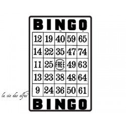 BINGO grand tampon nm