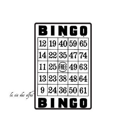 tampon bingo | bingo rubber stamp