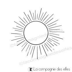 Tampon rayons soleil
