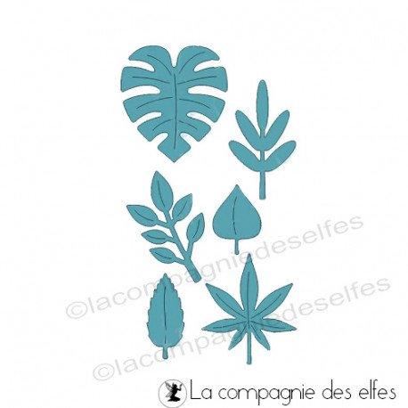 pages 2/2 Dies-feuilles-exotiques