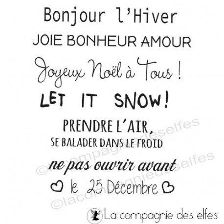 Tampons Sandrine DIES- POCHOIRS-GAUFRAGE Tampons-joyeux-noel-a-tous