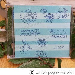 Tampon scrapbooking | acheter tampon pour Noël