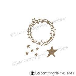 Dies couronne étoiles