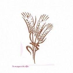 epi de blé - tampon nm