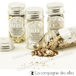 Confetti Nuvo golden pure sheen