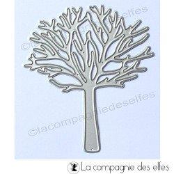 Dies arbre sans feuille