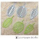 Dies trio de feuilles