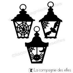 Achat die lanterne | scrap dies halloween
