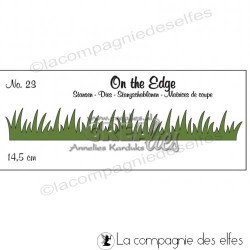 Dies crealies bordure herbe