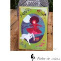 Carnet notes chaperon rouge