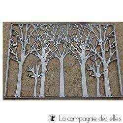 Dies fond arbres