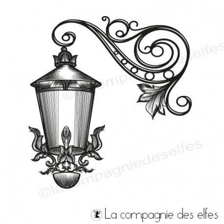 Tampon réverbère | tampon lampe extérieure