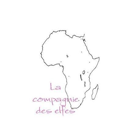 Acheter tampon carte afrique safari